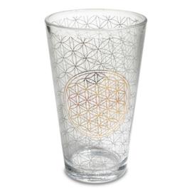 Drinkglas Bloem des Levens/ per 2