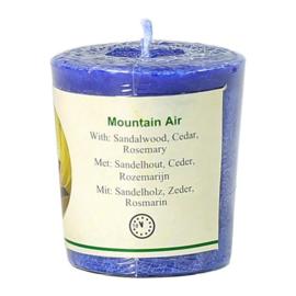 Chill-out geurkaars Mountain Air stearine