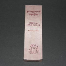 Tibetaanse wierook Spiritual Home, Harmony and Joy, 14cm, 20gr