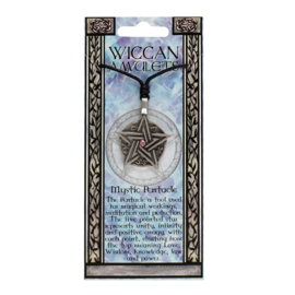 MYSTIC PENTACLE WICCAN AMULET KETTING