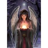 Anne Stokes kaart Yuletide Angel