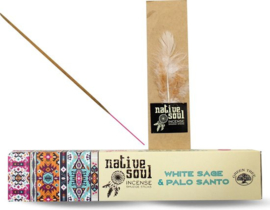 Native Soul White Sage & Palo Santo 15gr