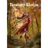 Anne Stokes kaart Autumn Fairy