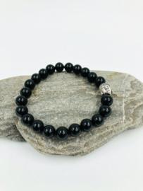 Armband Boeddha Onyx