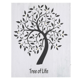 50X40CM LED LIGHT UP TREE OF LIFE CANVAS
