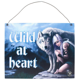 Protector Metal Sign by Anne Stokes