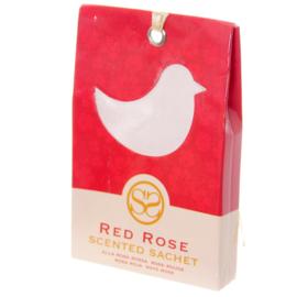 Vogel Rode Roos Geurzakjes