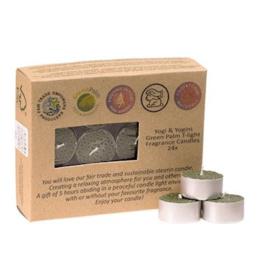 Fair Trade Theelichtjes stearine frankincense