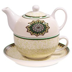 Tea for One Mandala groen