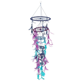 90CM 3D PURPLE DREAMCATCHER