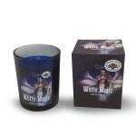 White Magic geurkaars in glas, 210gr