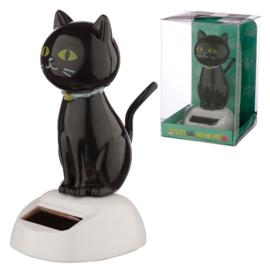 Geluk Zwarte Kat Solar Pal