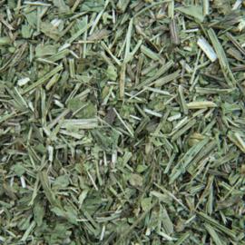 gedroogde kruiden weegbree verpakt per 50 gr