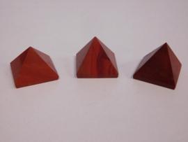 Piramide Rode Jaspis 1 stuk