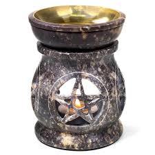 Olieverdamper Pentagram zeepsteen
