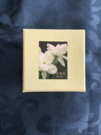 Mooi doosje met backflow Cones en keramische backflow wierookhouder jasmine