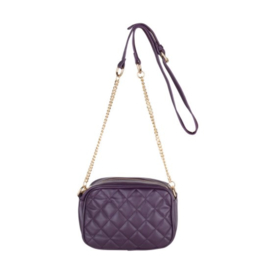 Quilted Square Bag Vivian Paars