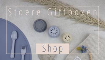 Onze Stoere Baby Giftboxen zijn het perfecte cadeau voor alle stoere new born baby's!