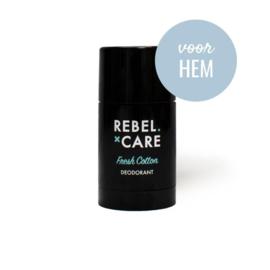 Deodorant Rebel Fresh Cotton 30ml – voor hem