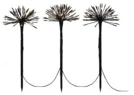 boompjes led 50 x 25 cm zwart 3 stuks