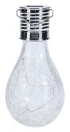 buitenspot solar led 14,5 x 7 cm polypropyleen zilver
