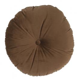 decoratiekussen 5 x 40 cm suède bruin