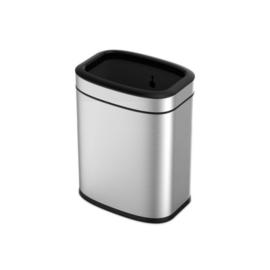 afvalbak OLI-Cube 20 liter RVS matzilver