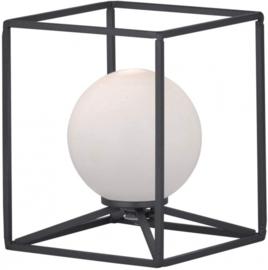 tafellamp Gabbia led 28 watt 14 x 17 cm staal matzwart