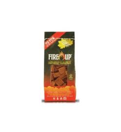 -Up aanmaakblokjes bruin zak/72st