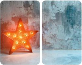 afdekplaat Universele Star 30 x 52 cm 2 stuks