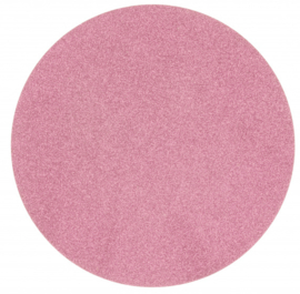 placemat glitter 38 cm polyester roze