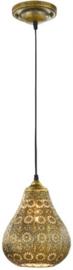 hanglamp Jasmin 150 x 19 cm staal 2 kg goud