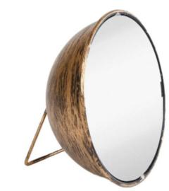 spiegel Vince 17 x 9 cm staal goud