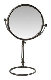 spiegel Dani 33 x 24 x 60 cm staal grijs