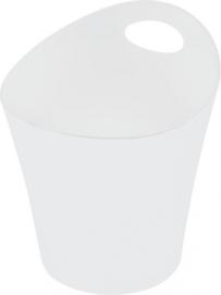 bloempot Pottichelli 0,3 liter polypropyleen wit maat XS