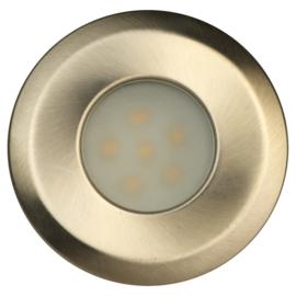 tuinverlichting Alpha 7 x 2,5 cm RVS zilver 2 stuks