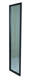 Senza spiegel 184.5 x 46 x 2.5 cm zwart