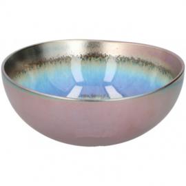 schaal 900 ml 1 stuk grijs/multicolor