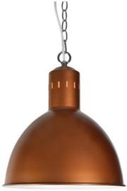 lampenkap hangend staal brons/zilver