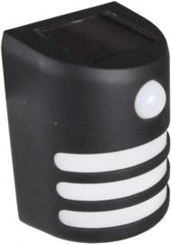 wandlamp Intelligent Solar Seine 100LM led 3,7V zwart