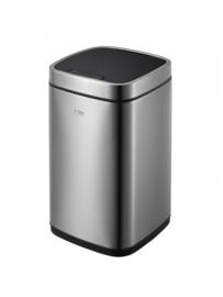 afvalbak EcoSmart Sensor 12 liter RVS matzilver