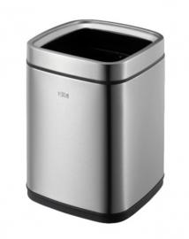afvalbak Laguna 9 liter RVS matzilver