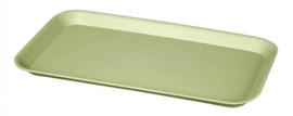 dienblad 30 x 16,3 cm bamboe groen