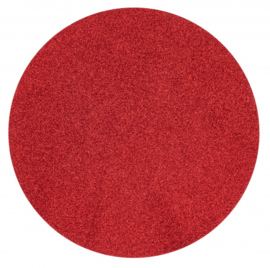 placemat glitter 38 cm polyester rood
