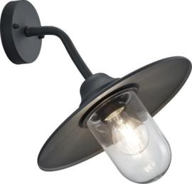 tuinverlichting Brenta 32 cm aluminium/glas antraciet
