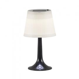 tafellamp solar 0,5W 30lm 36 x 19 cm zwart/wit