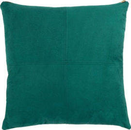 kussen Mace 45 x 45 cm polyester groen