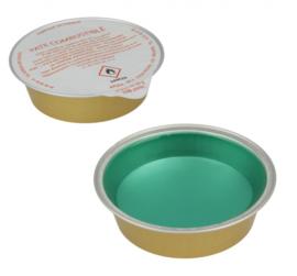 brandstofpatronen fondue 8 cm RVS zilver 2 stuks