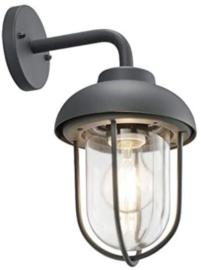 tuinverlichting Duero 33 cm aluminium/glas antraciet