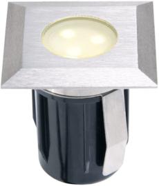 tuinspot Atria 4,2 cm RVS SMD-led 0,5W 12V zilver